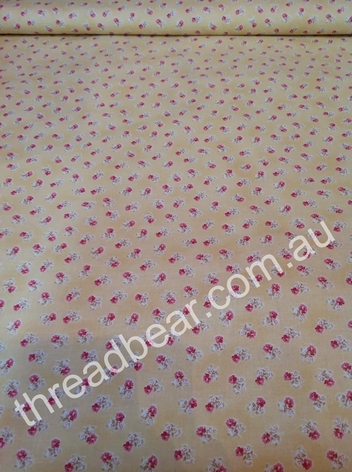 Threadbear Soft Pretty Fabric For A Hot Hot Day