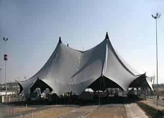 Carpa de Interpeñas de las Fiestas del Pilar 2012