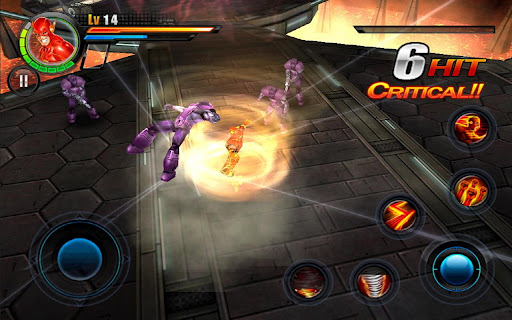 Justice League EFD Apk Sd Data