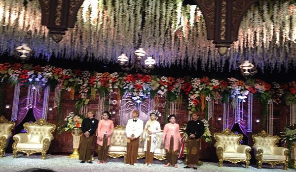 Resepsi Pernikahan Gibran-Selvi