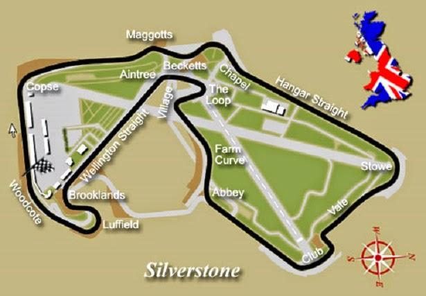 circuito de Silverstone caracteristicas