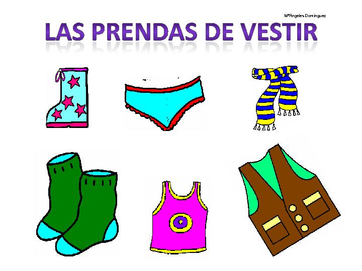 CoSqUiLLiTaS eN La PaNzA BLoGs: LAS PRENDAS DE VESTIR (CON ...