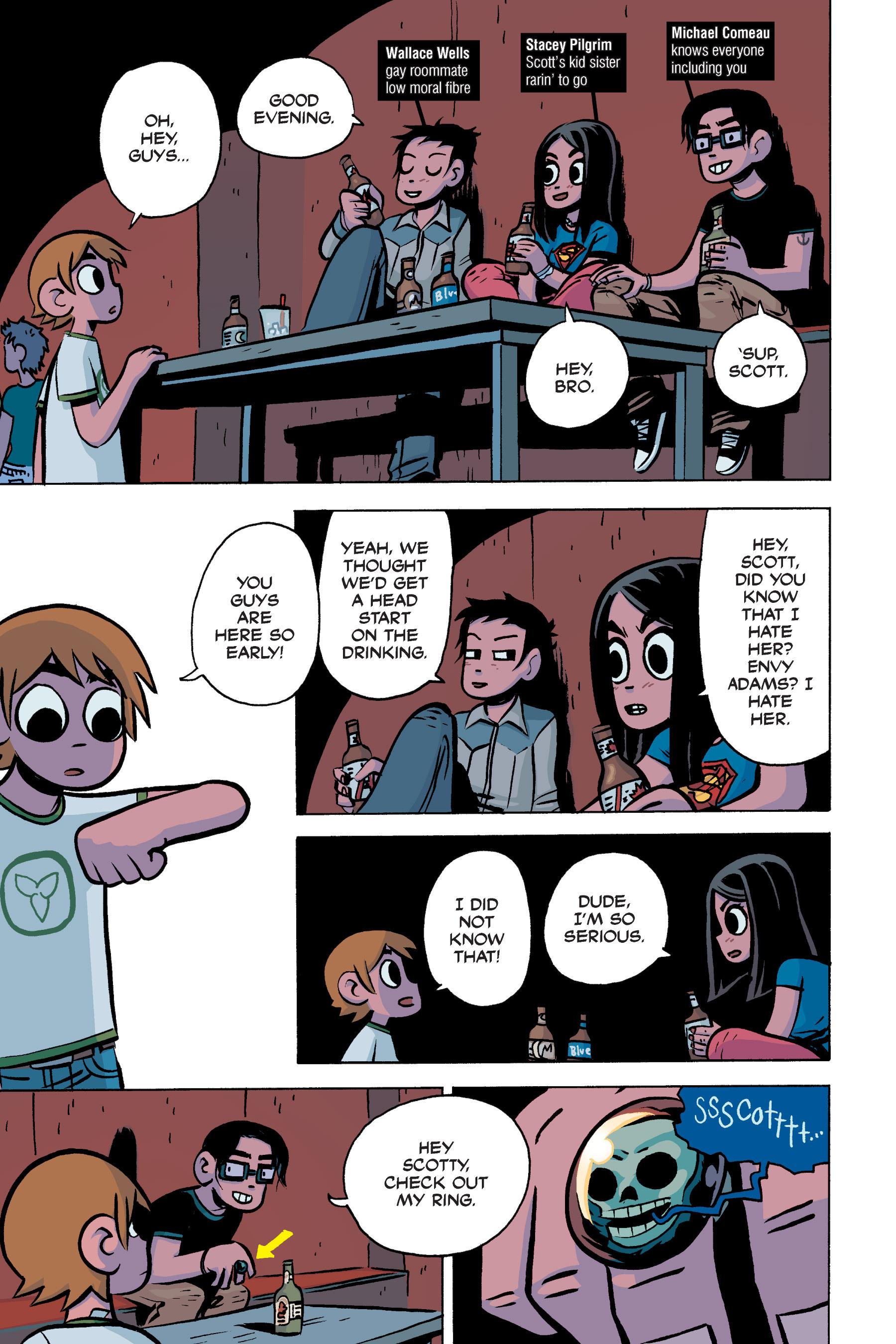 Read online Scott Pilgrim comic -  Issue #3 - 100