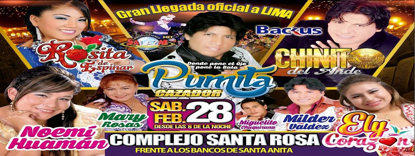 Pumita Cazador llega a Lima, este sábado 28 de febrero