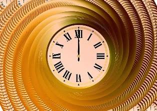 orologio mezzanotte mezzogiorno