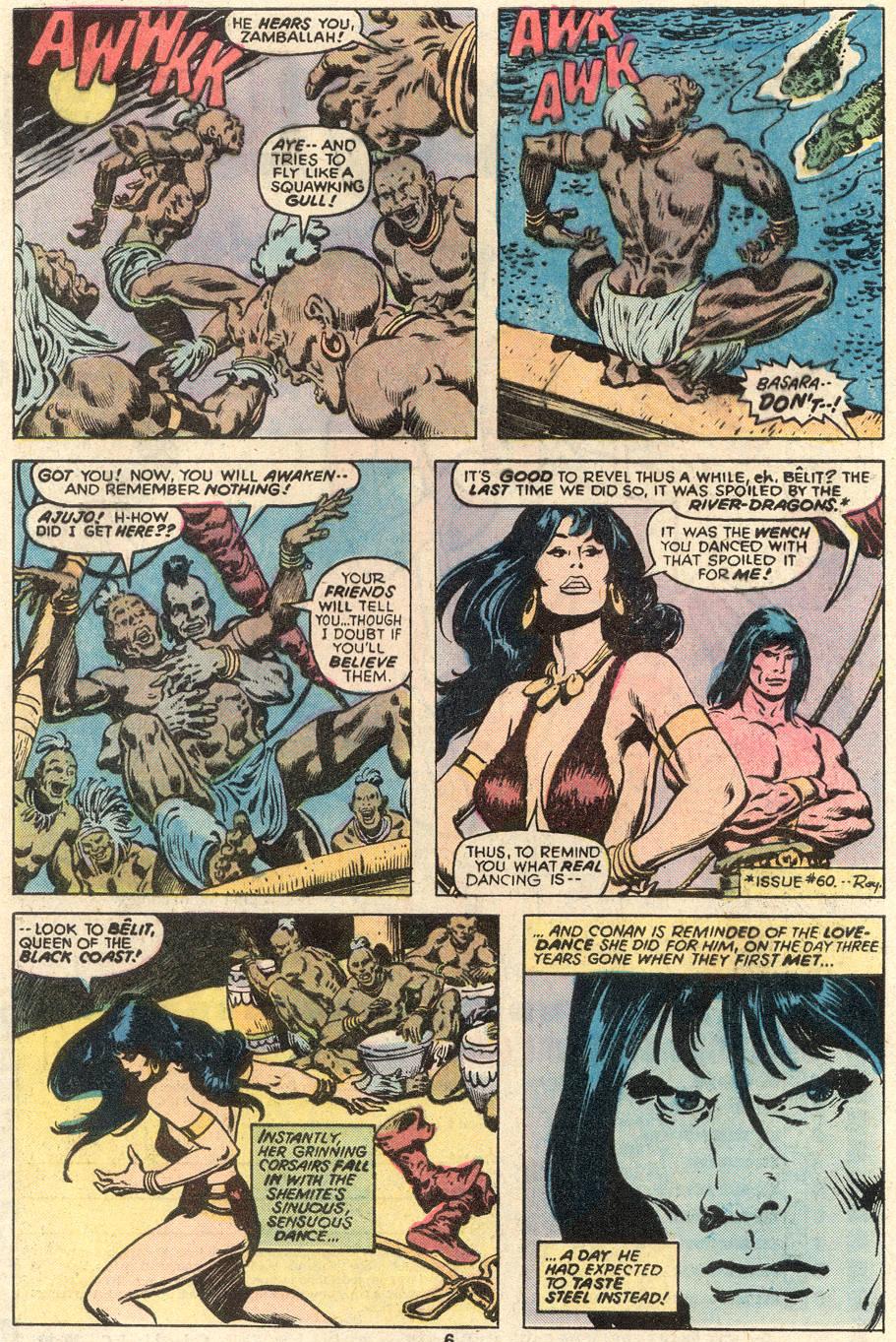 Conan the Barbarian (1970) Issue #91 #103 - English 5