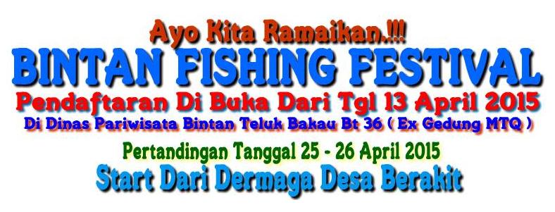 Turnamen Mancing Bintan