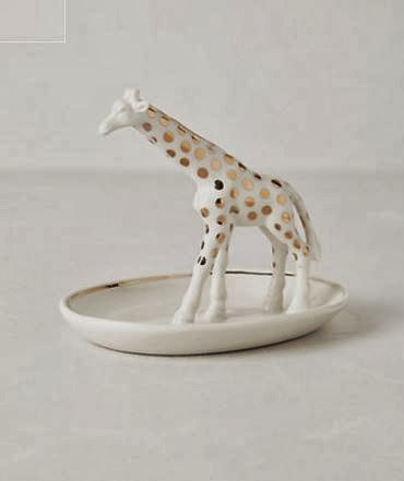 Doeblerghini Bunch:  Thank You Gifts - Giraffe Dish