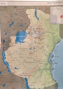 Kenya Nairobi Mission Map