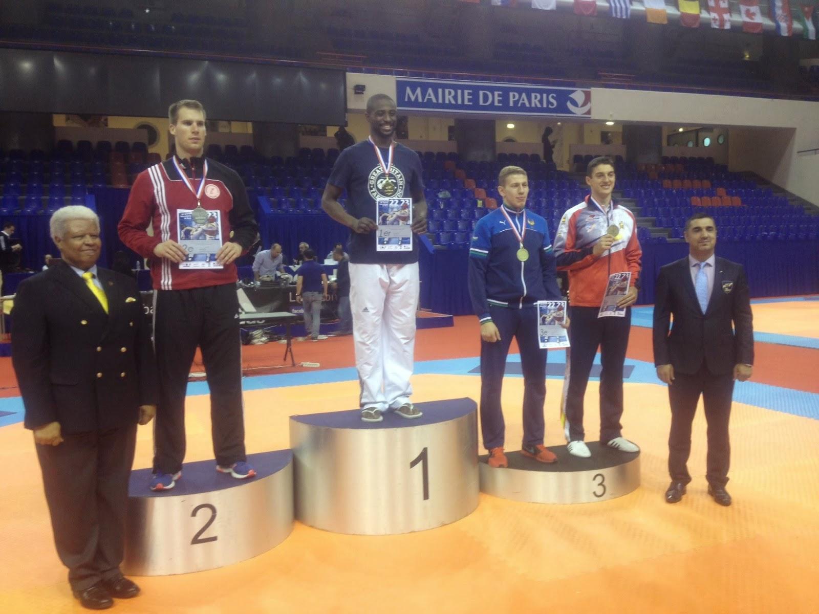 Podium +87kg. Adrian Cabo. Medalla de BRONCE