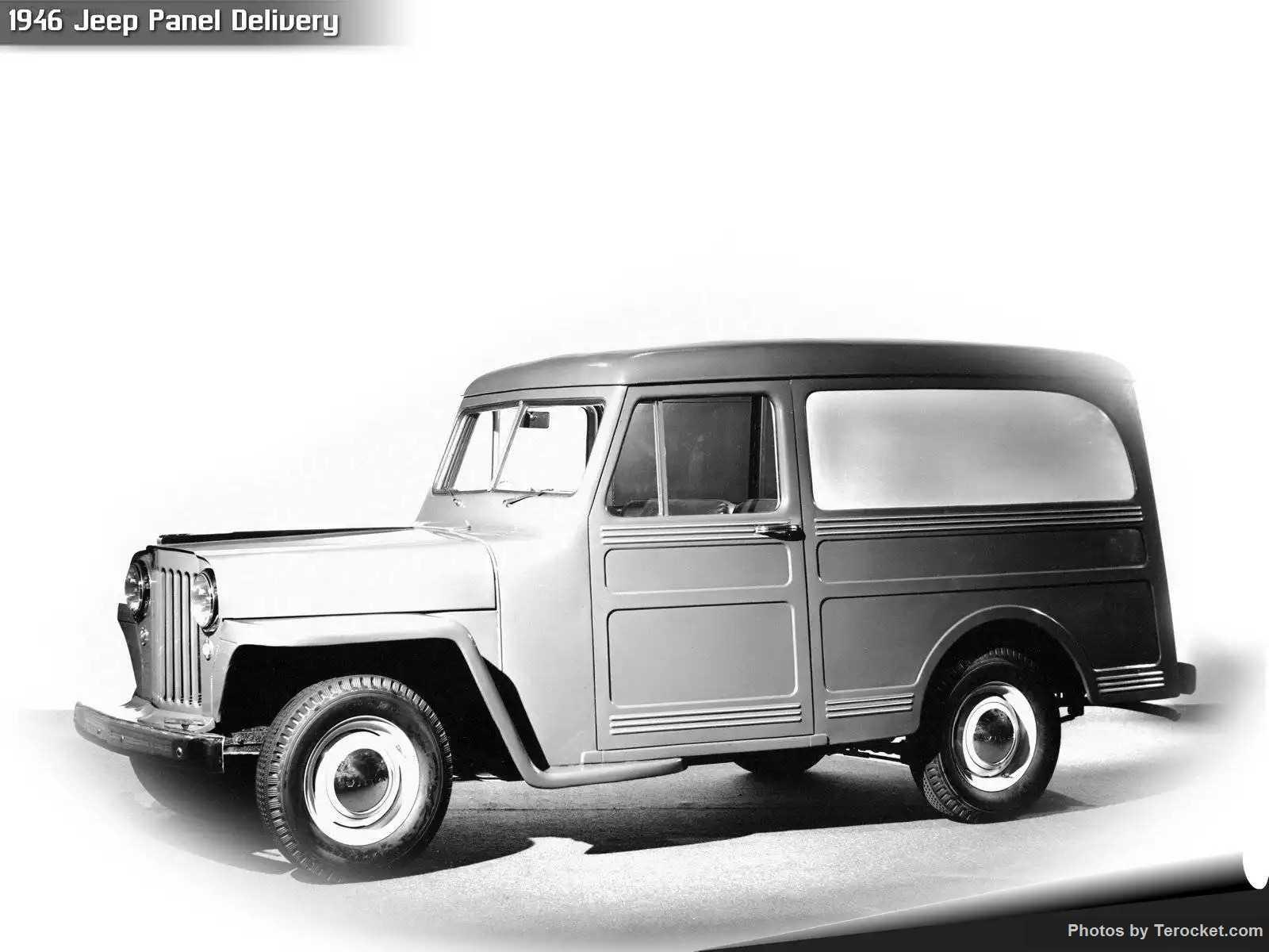 Hình ảnh xe ô tô Jeep Panel Delivery 1946 & nội ngoại thất