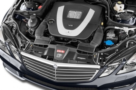2013 Mercedes-Benz E Class Engine