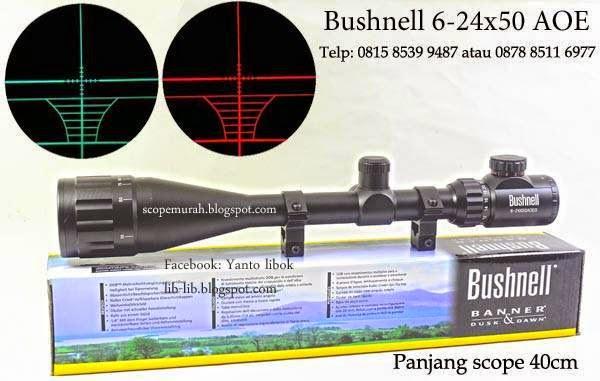 telescope bushnell 6-24x50 aoe murah