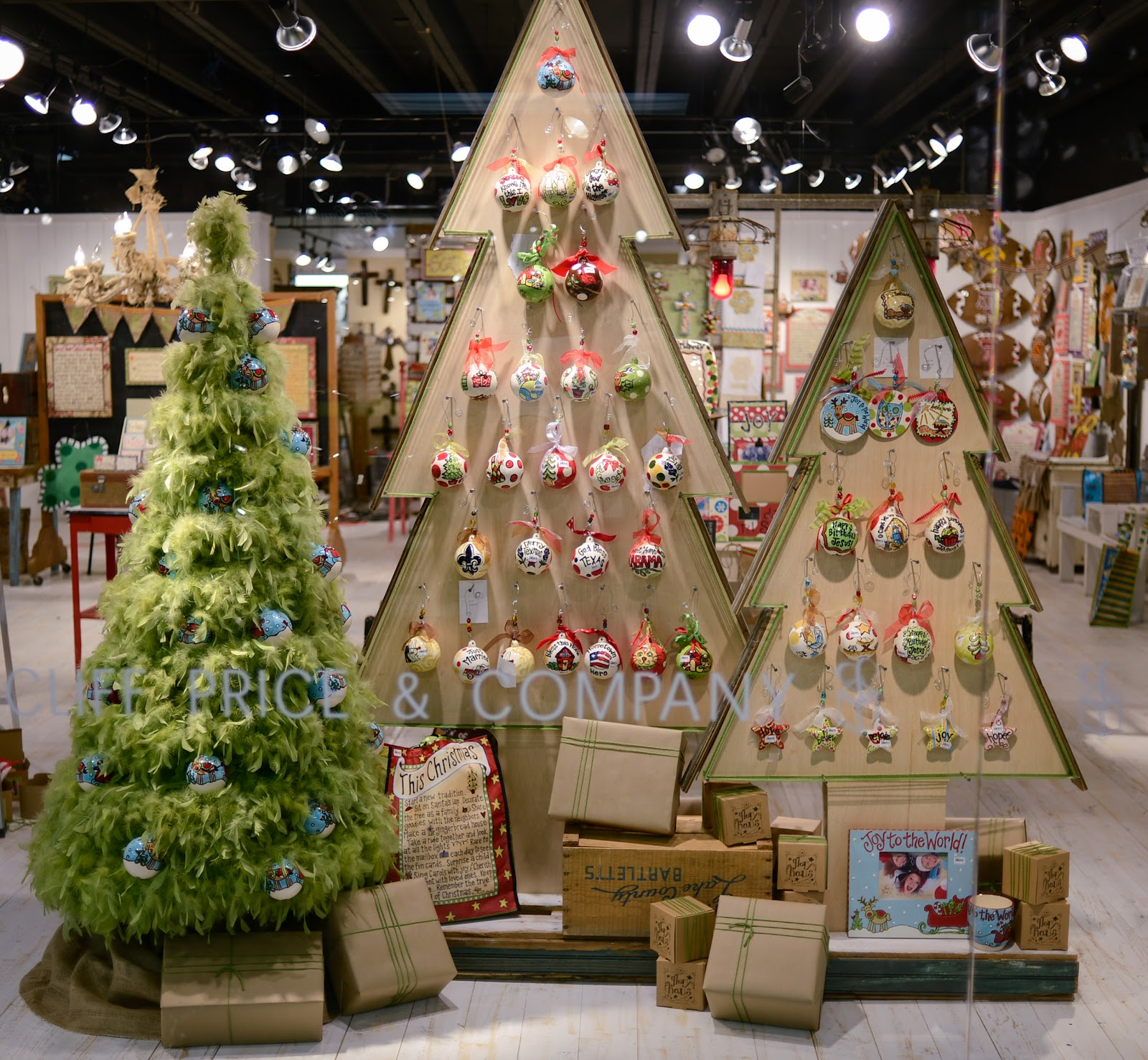 many of you have seen our plywood christmas trees at mart in dallas and atlanta several of you have even taken pictures so you could recreate it yourself - Large Wooden Christmas Decorations
