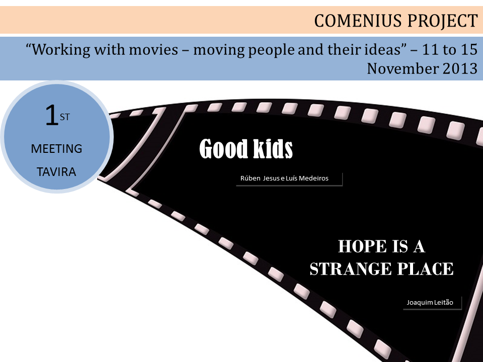 Projeto Comenius - Working with movies