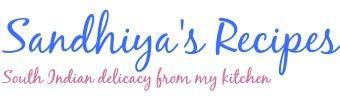 Sandhiya's Recipes