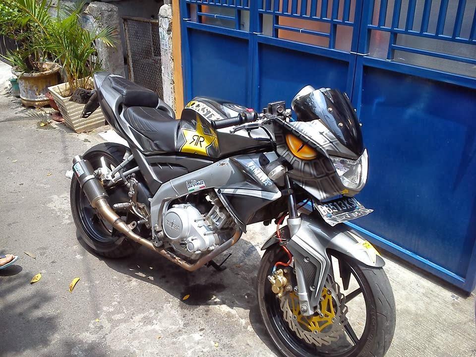 Yamaha Vixion Berkepala Naga