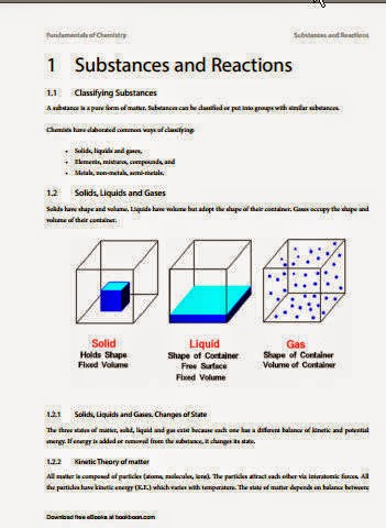 Fundamentals of Chemistry-Chemistry book for student