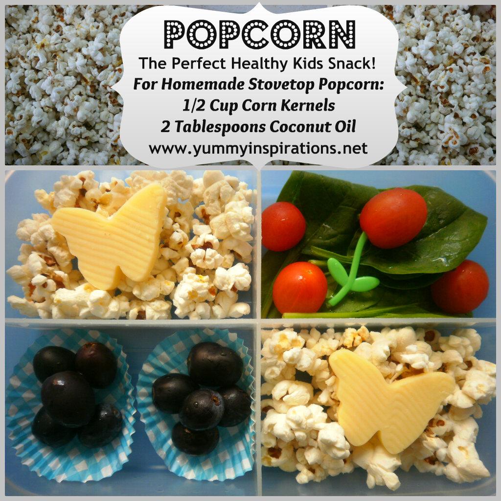 homemade popcorn yummy inspirations