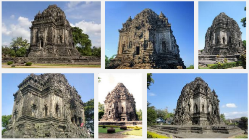 Ilustration Of Virtual Tour Of The Kalasan Temple