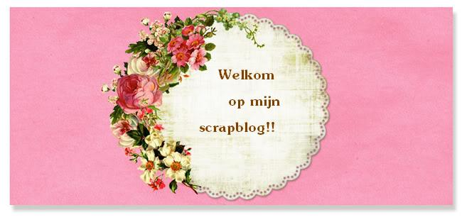 Welkom op mijn scrapblog!!