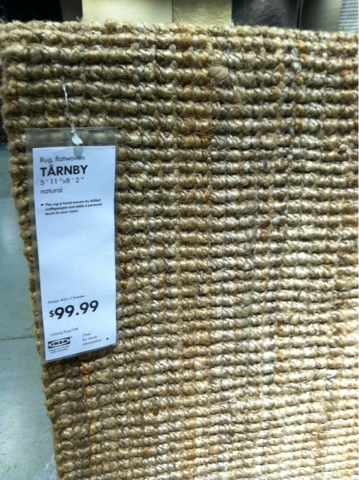 Photo Taken At IKEA West Chester, TARNBY Rug