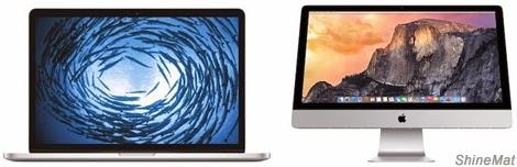 new macbook pro and imac retina display