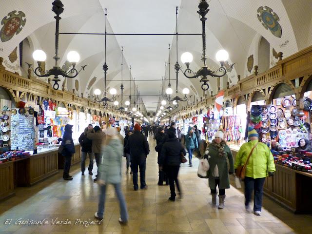 Mercado de los Paños - Cracovia, por El Guisante Verde Project