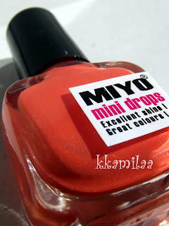 Miyo Mini Drops nr 32 - Orange