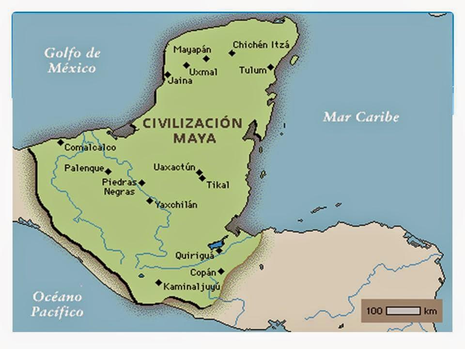 Civilizaciones de mesoam rica cultura maya for Cultura maya ubicacion