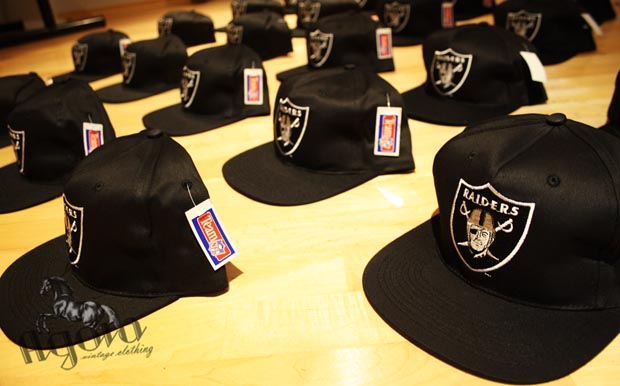 f175d4dc6b7 LA Raiders Vintage Snapbacks - Agora Clothing Blog