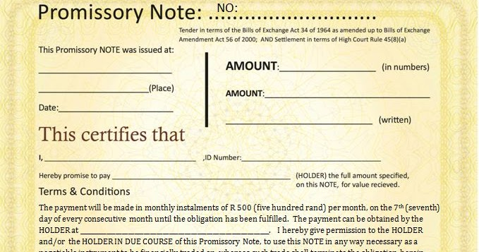 How To Create Your Own Promissory Notes  Michael Tellinger