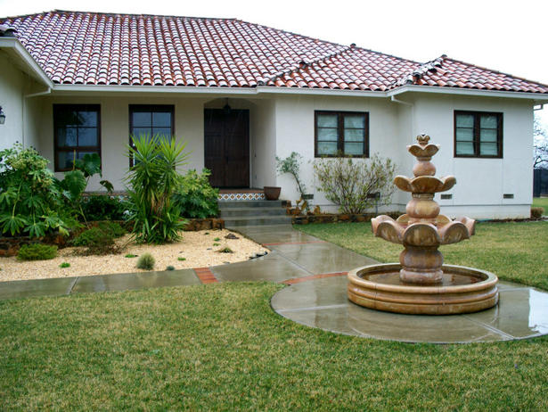Home garden lawn ideas new home designs for Home garden design in pakistan