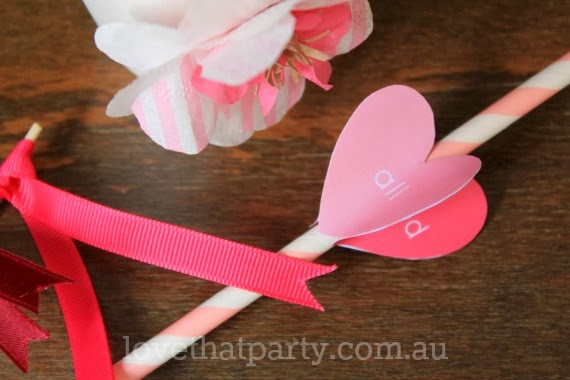 "Free Printable Valentine's Day Drink Stirrer: ""You get me all stirred up!"" by Love That Party. www.lovethatparty.com.au"