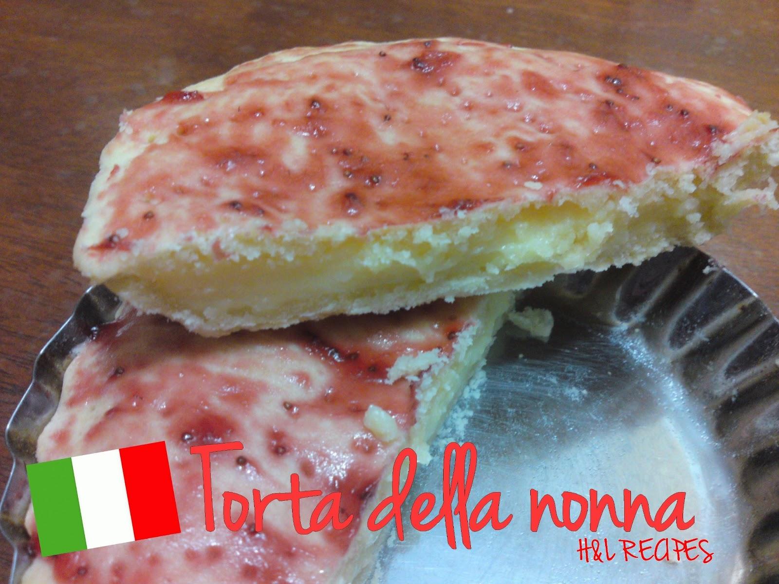 Recette italienne torta della nonna blogs de cuisine - Cuisine italienne blog ...