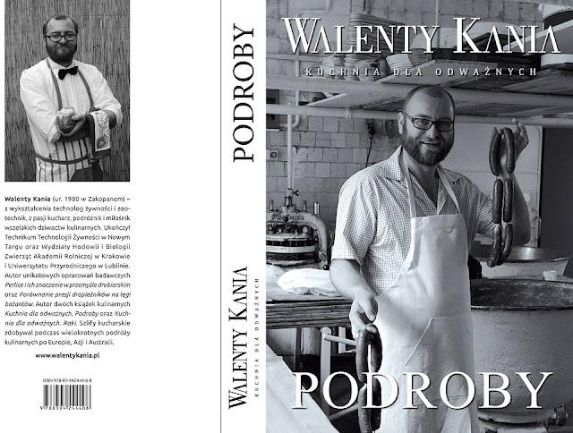 Walenty Kania Kuchnia dla odwaznych - Podroby - recenzja książki
