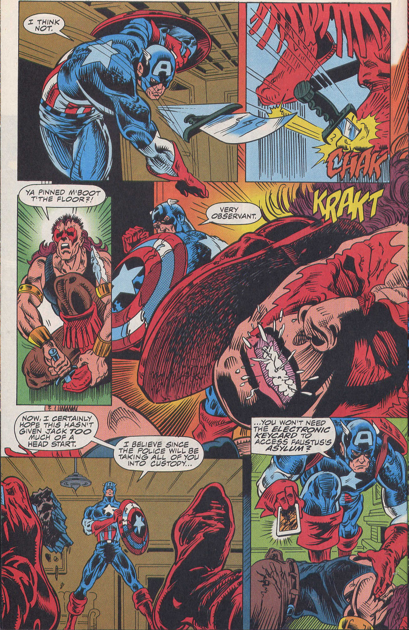 Captain America (1968) Issue #420b #370 - English 12