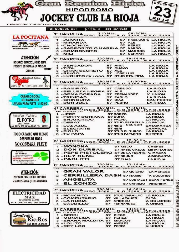 PROG LA RIOJA 23/11/2014