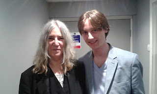 Backstage with Patti Smith - Manchester Apollo 2015