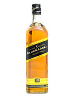 johnnie walker black label blended whisky