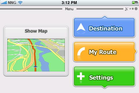 iGO primo app for iPhone