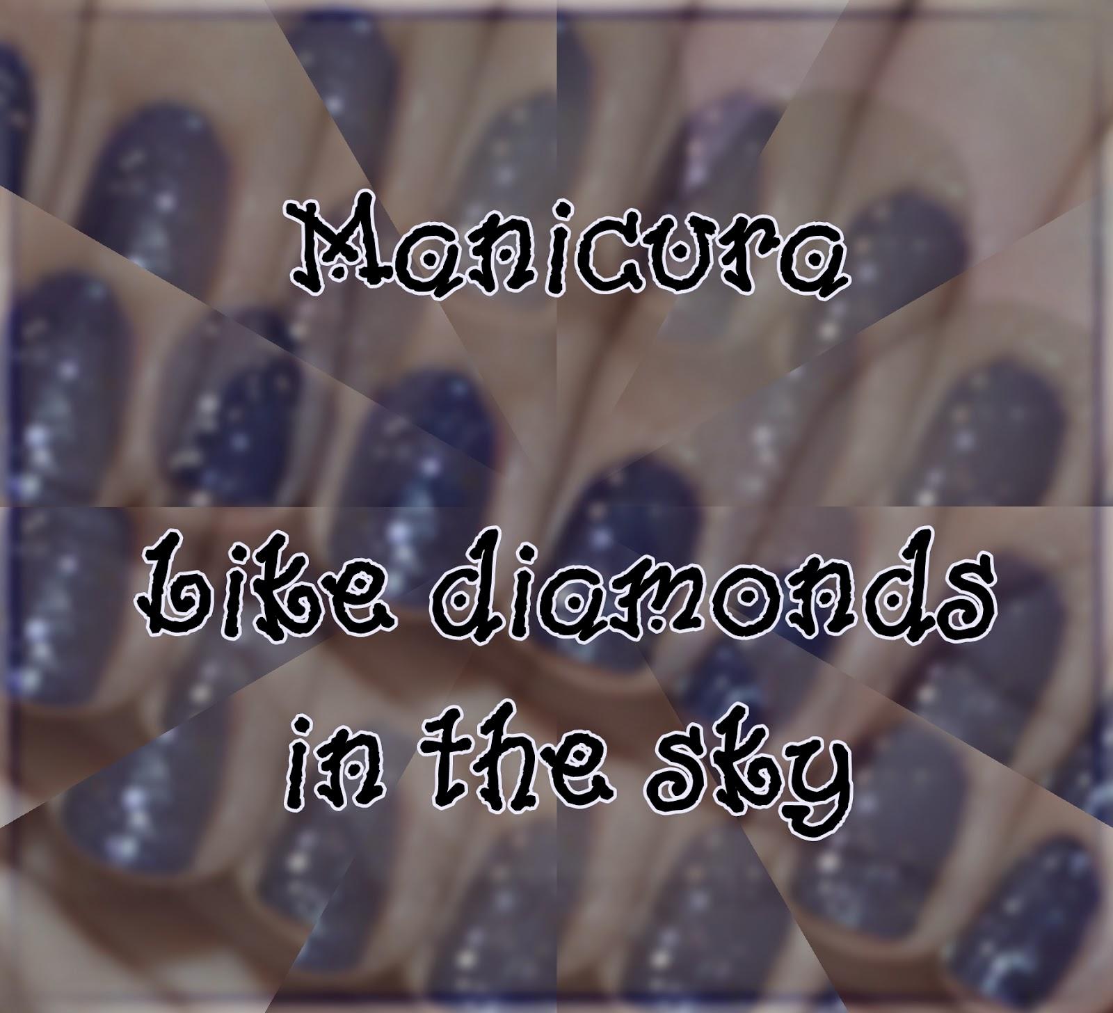 Manicura Like diamonds in the sky