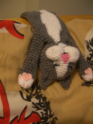 Crochet Laid Back Cat