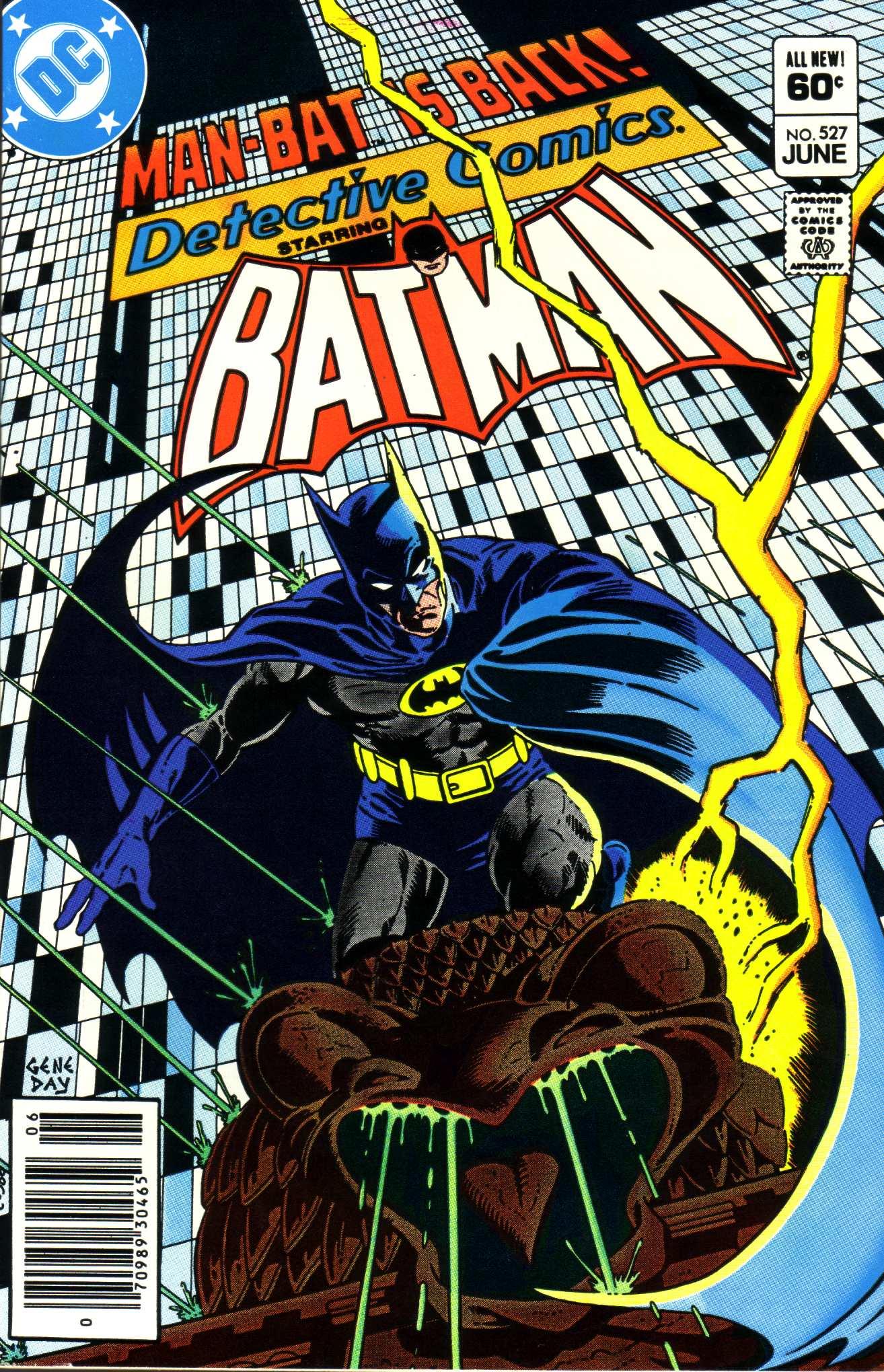 Detective Comics (1937) 527 Page 1