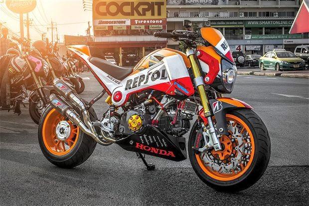 Honda MSX125 Repsol