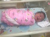 Auni Zafirah Newborn