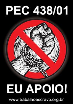 PEC do Trabalho escravo pode ser votada no dia 22 de maio