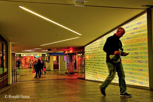 Stadt - Untergrund - Einkaufspassage - Diskontopassage Saarbrücken
