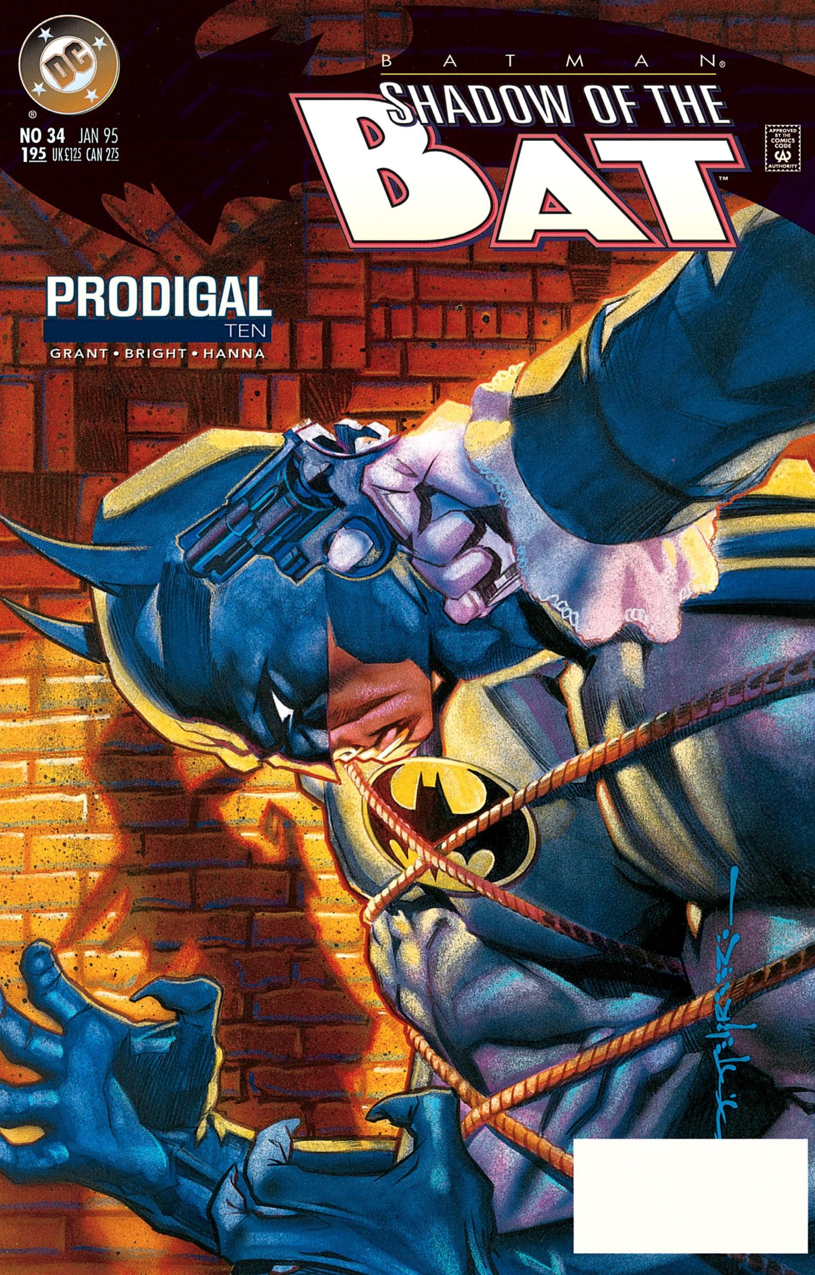 Batman: Shadow of the Bat 34 Page 1