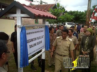 Kotabaru Tambah Satu Kecamatan Lagi